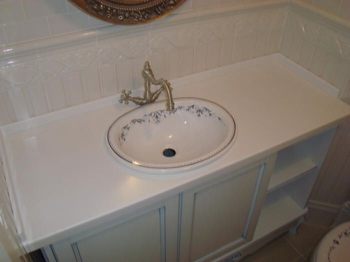 Столешница для раковины в ванной | Столешницы ванная