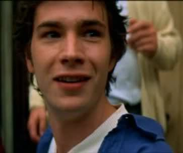 James D'Arcy as the young groom