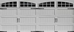 16' x 7' Insulated Garage Doors from Menards $699.00