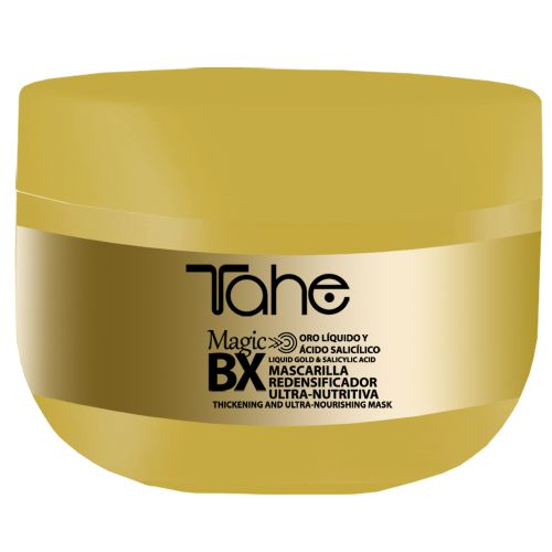 Magic Bx Gold Mask  300ml Μάσκα άμεσης θρέψης με σαλικυλικό οξύ και υγρό χρυσό που συμβάλει στη διατήρηση της θεραπείας Botox Gold. Αποκλειστικά από την Tahe!