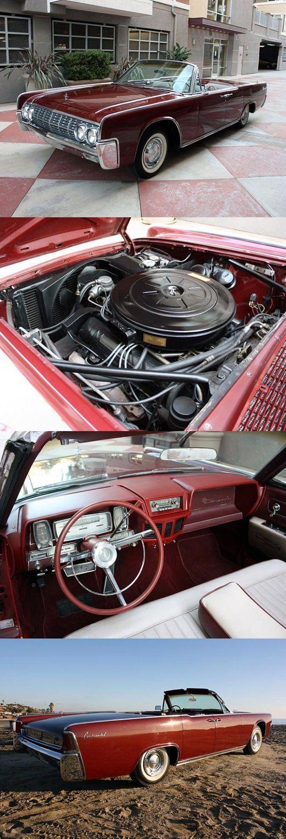 1962 Lincoln Continental 4-Door Convertible