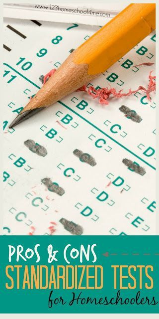 pros and cons of standardized testing in schools