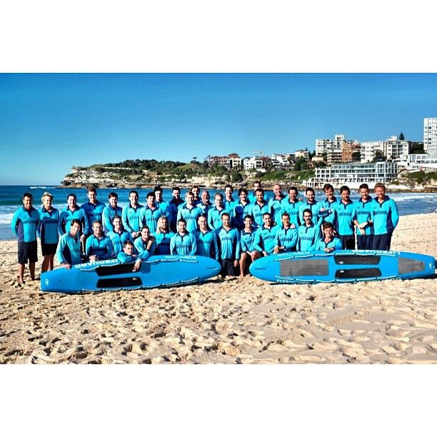 The new Waverley council lifeguards photo for the 2013-2014 season :) ( bondi rescue)