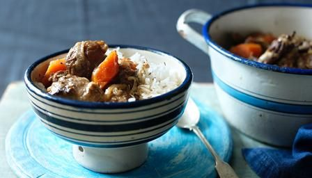 BBC - Food - Recipes : Spiced mutton stew with apricots