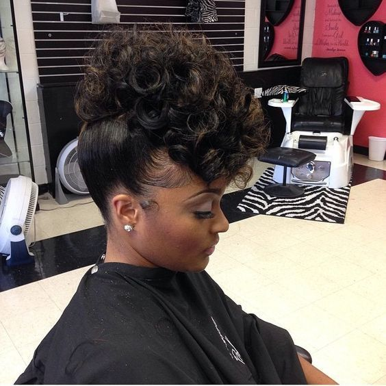 14 best images about Hair Styles on Pinterest | Cute side ... Black Hairstyles 2013 With Weave Summer Look
