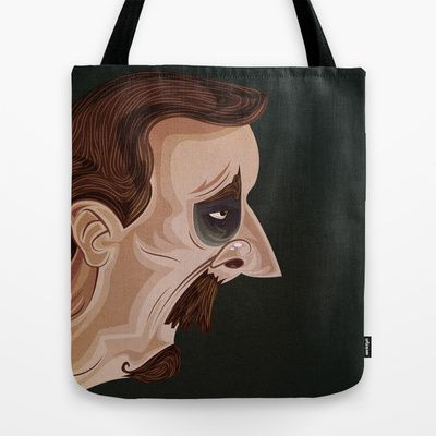 Wise Man Told Me Nothing Tote Bag by MikiMikibo - $22.00