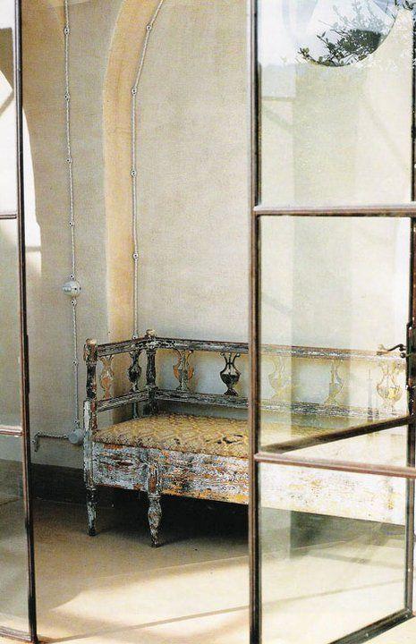 Elle Decor Italia.    Window door!!!