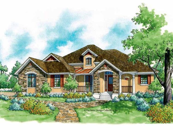 french country house plan with 1848 square feet and 3 bedrooms from dream home source