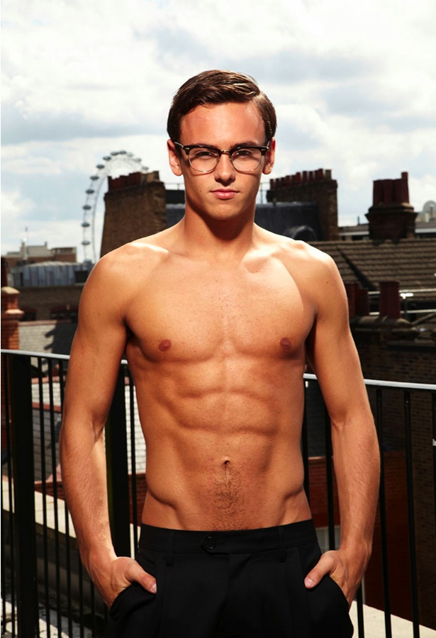 Tom Daley. Woah! There are laws against the thought I just had.......