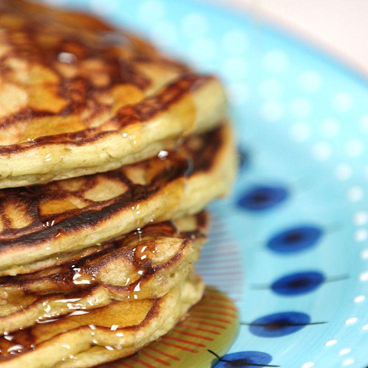 A Whole-Wheat Pancake Recipe That UsesAvocado