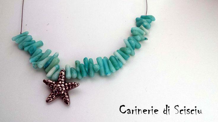 Corallo, argento, fatto a mano, pezzo unico e originale.