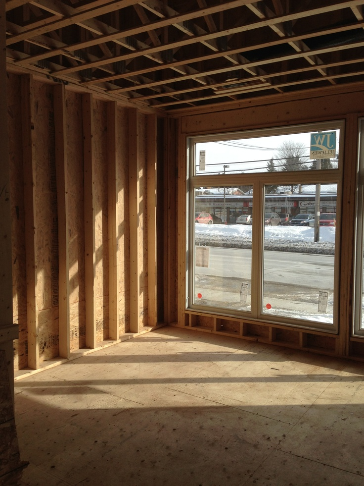 The inside is coming along nicely at 2131 St. Joseph Blvd. in Orleans, ON