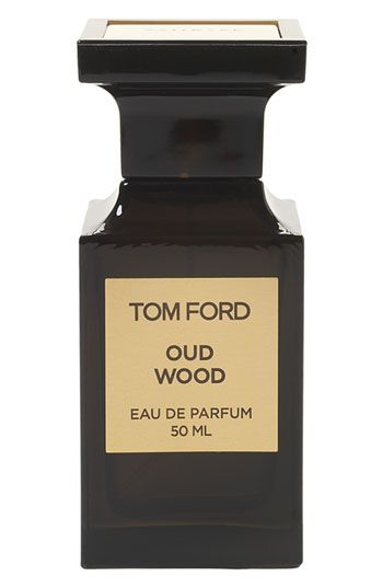 "Tom Ford Private Blend ""Oud Wood"" - Exotic rose wood and cardamom, blended with exuberant Chinese pepper, envelop the wearer in warmth. Eventually, the center exposes a smoky blend of rare oud wood, sandalwood and vetiver. Finally, the creamy scents of tonka bean, vanilla and amber are revealed.    Notes: cardamom, pepper, rosewood, sandalwood, vetiver, oud, amber, tonka bean, vanilla."