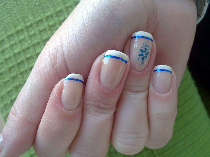 Uñas francesas o uñas french. Más de 70 fotos con diseños | Decoración de Uñas - Manicura y Nail Art - Part 6