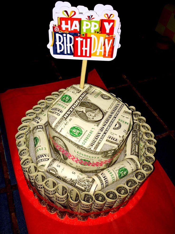 Th Birthday Cash Lotto Tickets Cake