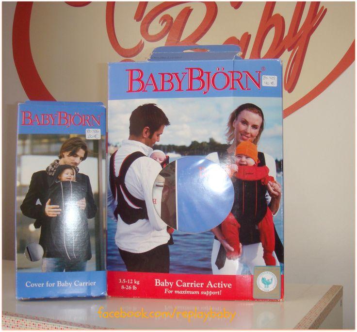 mochila portabebé baby bjorn y forro polar para la mochila. facebook.com/replaybaby , segunda mano, second hand, bebes, baby