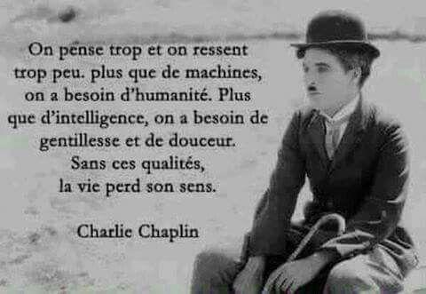Citation de Charlie Chaplin
