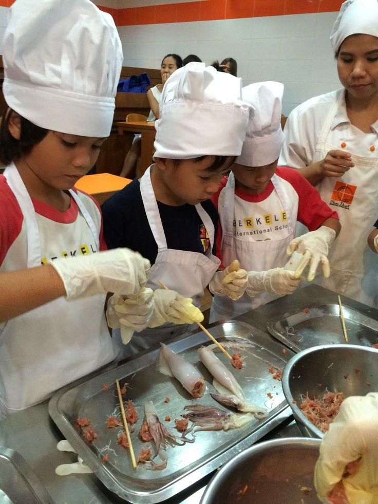 Home economics for 3rd grade. Cooking the best Thai foods! Berkeley visit Suan Dusit!