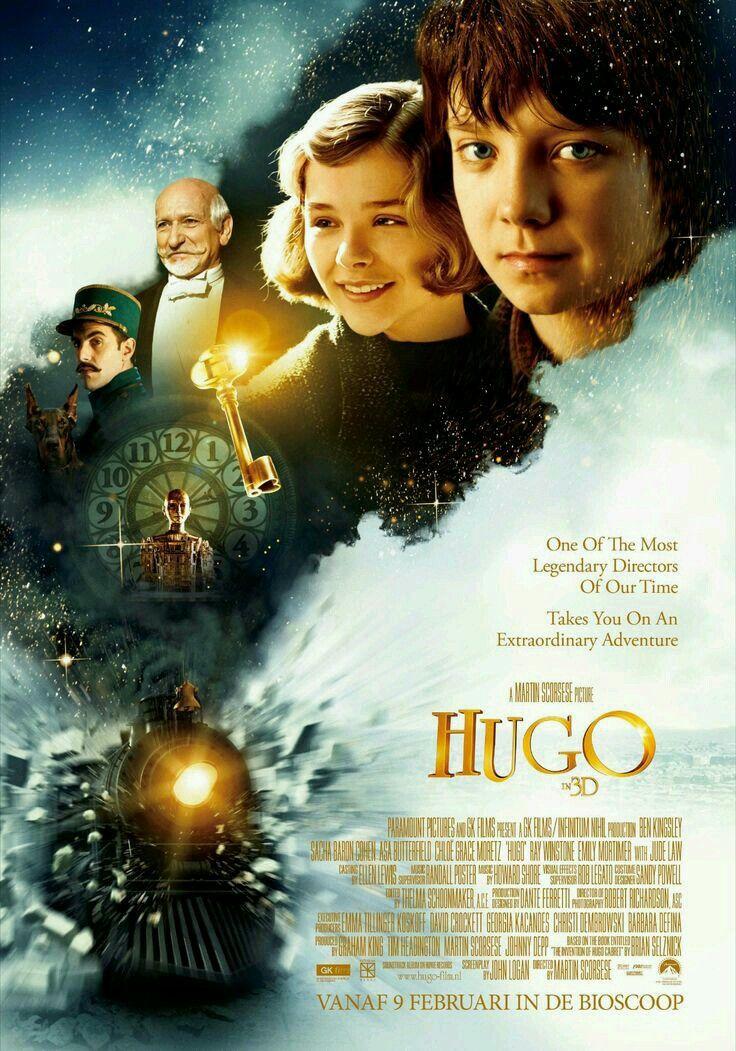 Hugo Cabret 2011 Carteleras De Cine Peliculas Peliculas Cine