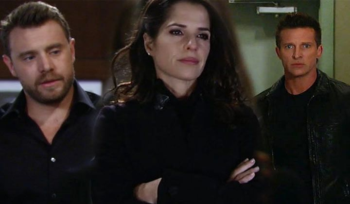 You don't have to be a math major to know that no three sides of a love triangle are ever the same. But what happens when two sides are the same, but different -- and you love them both the same... but differently. That's the shape of Sam's world right now, and this week's Two Scoops proves that GH fans are just as torn as Sam.