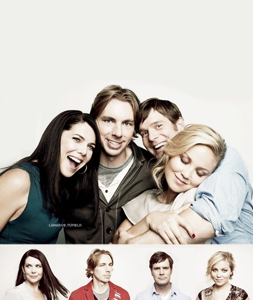 Lauren Graham,  Dax Shepard, Peter Krause and  Erika Christensen