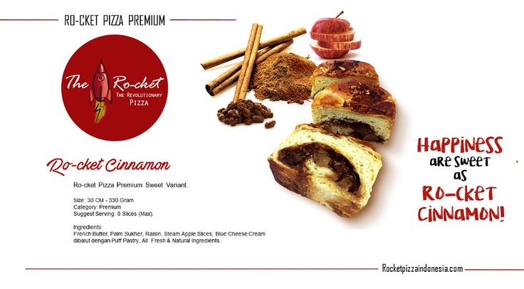 Ro-cket Cinnamon, Disc 10%. Order Now: rocketpizzaindonesia.com