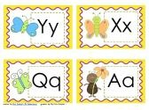 Jolly Phonics Spring Write the Room product from Schenk-Kindershop on TeachersNotebook.com