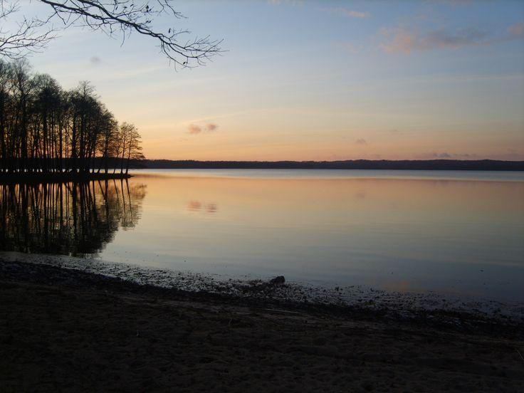 Weekend nad jeziorem.