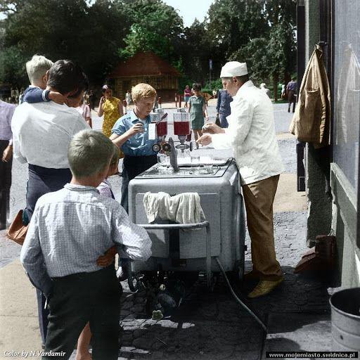Świdnica przed 1945 rokiem jak i po - zdjęcia kolorowane ręcznie - Nessa Vardamir