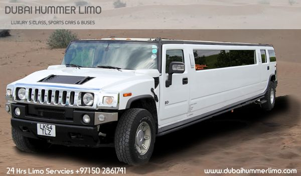Exotic  Limo  should  be  your  first  choice  for  transportation on  all  occasions  like  Wedding, Prom, Concert, Corporate events, Anniversary and Sports events. Dubai Hummer Limo is a well-known name in car rental domain and has wide range of luxury cars such as Limousine, Hummer, Rolls Royce, Mercedes, Ferrari and Lamborghini etc available at nominal prices