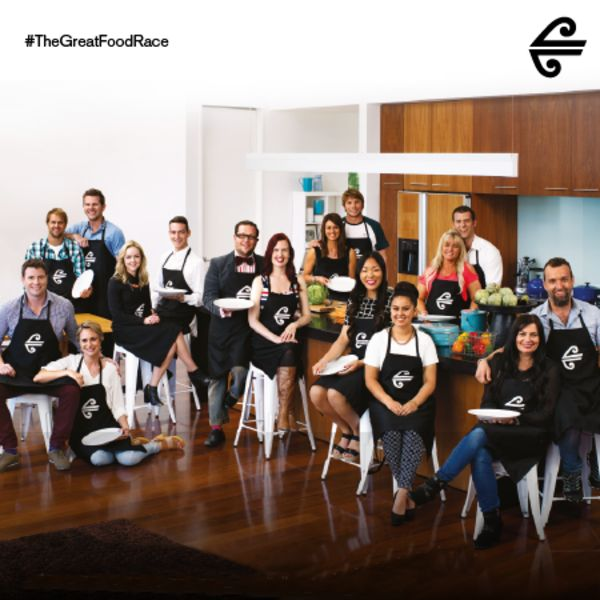 The contestants from #TheGreatFoodRace #GreatFoodRace