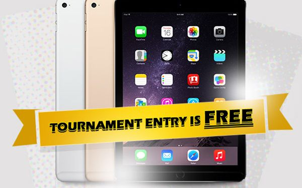 Win an iPad Air 2 in our Free tournament