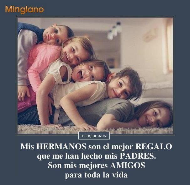 Frases Bonitas Para Hermanos Frases Hermanos Minglano