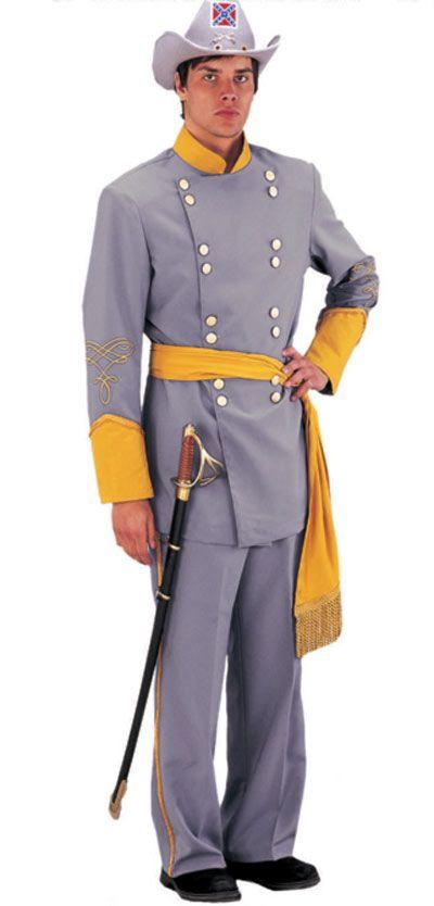 Civil War Confederate Soldier Uniform Costume - Tabis Characters Costume 7742