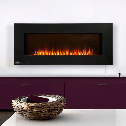 Lareira elétrica – Modelos e fotos. Wall Mount Electric FireplaceElectric  ... - 25+ Best Ideas About Napoleon Electric Fireplace On Pinterest