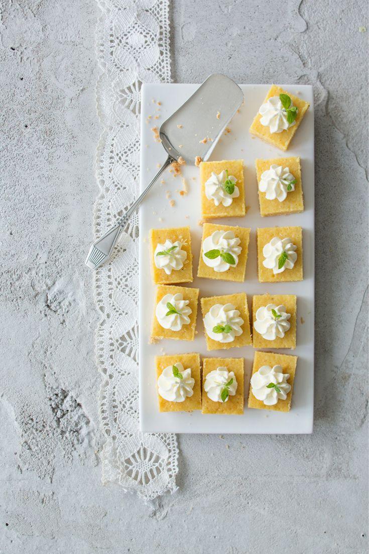 Sitruunaiset leivospalat - Pastries with Lemon Filling. Food & Style Emilia Kolari Photo Johanna Myllymäki. Maku 2/2013. www.maku.fi