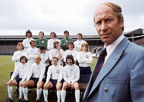 B. Charlton à Preston North End 1973