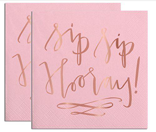 40 Sip Sip Hooray Party Napkins (2 Sets of 20) - Pink Nap... https://www.amazon.com/dp/B01MU82FKK/ref=cm_sw_r_pi_dp_x_S6vmzbZ57ZD6P