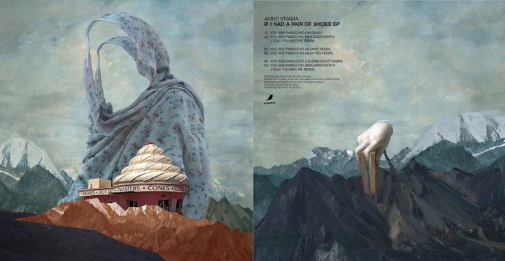 "Akiko Kiyama – If I Had A Pair Of Shoes EP 12"" 2012 (artwork: Igor Skaletsky)"