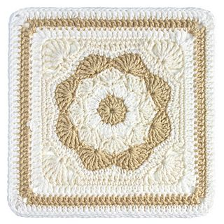 Harriett-square - Free crochet pattern