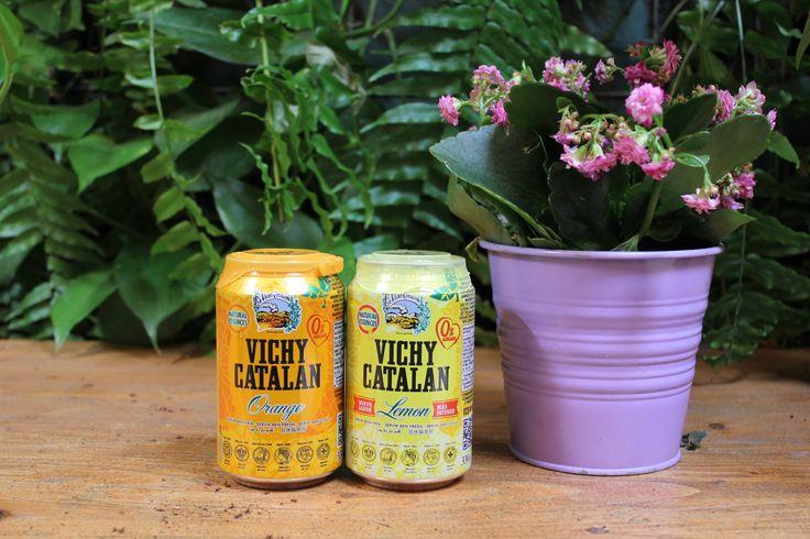 Vichy Catalan Orange & Lemon, la pareja perfecta (en lata)