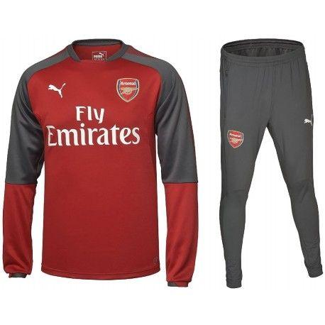 Survetement Arsenal Enfant 2017/2018 Officiel. Flocages Personnalisés Disponibles.