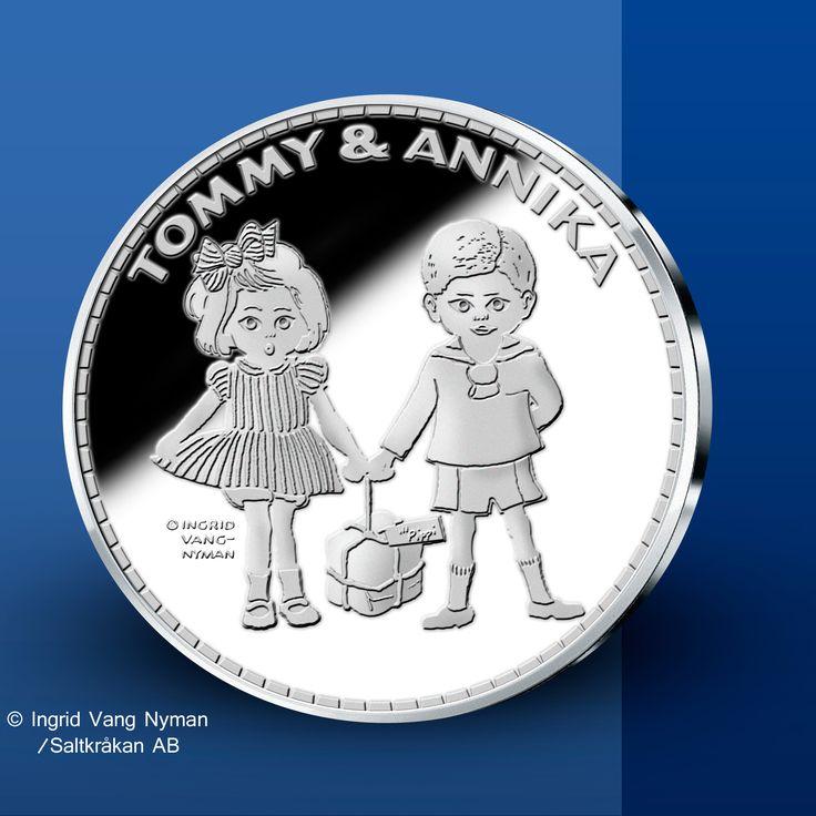 Tommy & Annika - Pippi Långstrump Silvermedaljer