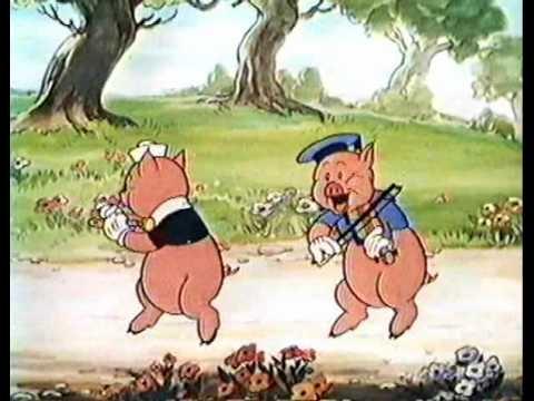 Les Trois petits Cochons-En Français-Walt Disney l'authentique 1933