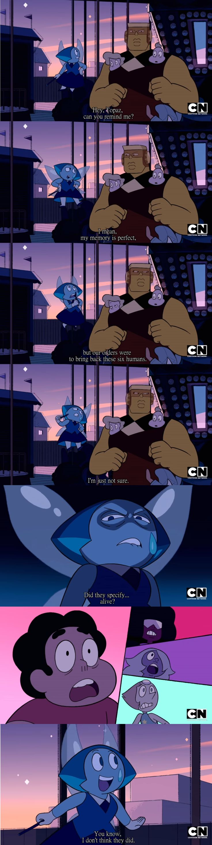 Oh hey look, intentional murder.   Steven Universe   Know Your Meme