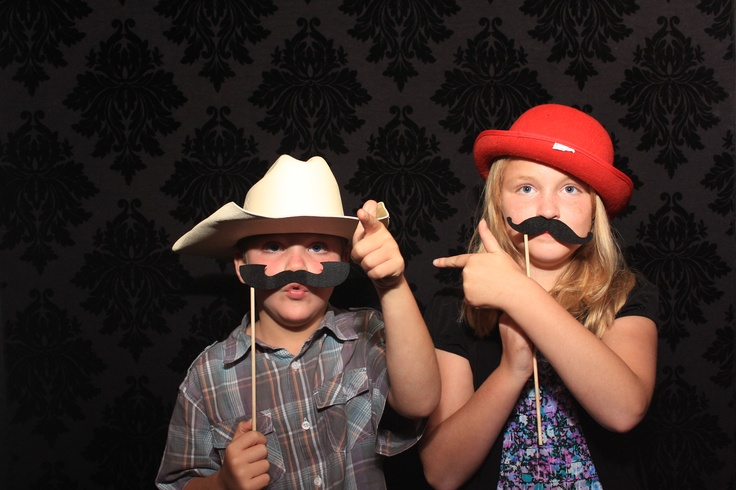 How Cute!! #Mustaches #Akron Photo Booth Rental #Cleveland Photo Booth #PartyPixExperience