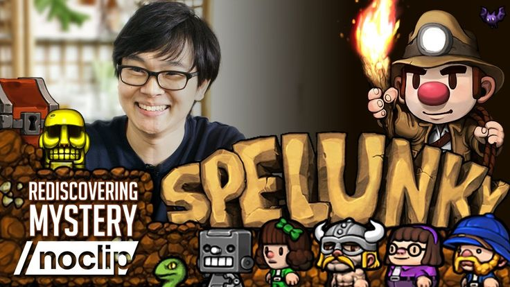 Spelunky - Noclip Documentary - YouTube | For almost a decade players have gleefully explored Spelunky's refined brand of player discovery and emergent gameplay. In this documentary, we talk to the game's creators about building the rules of its procedurally generated worlds. #Gaming #VideoGames #VideoGame #PCGames #PCGame #GameDev #GameDevelopment #IndieDev #Platformer #2DPlatformer #RogueLike #Spelunky #Mossmouth