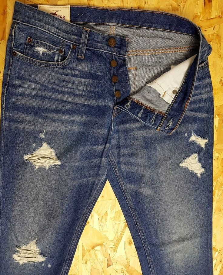 hollister ripped jeans ebay - 736×905