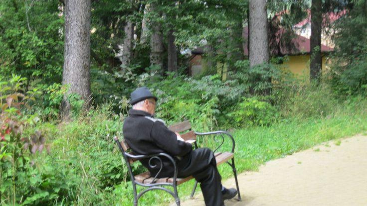 Reading in Gura Humorului by  Emil Langhe  on @deviantART