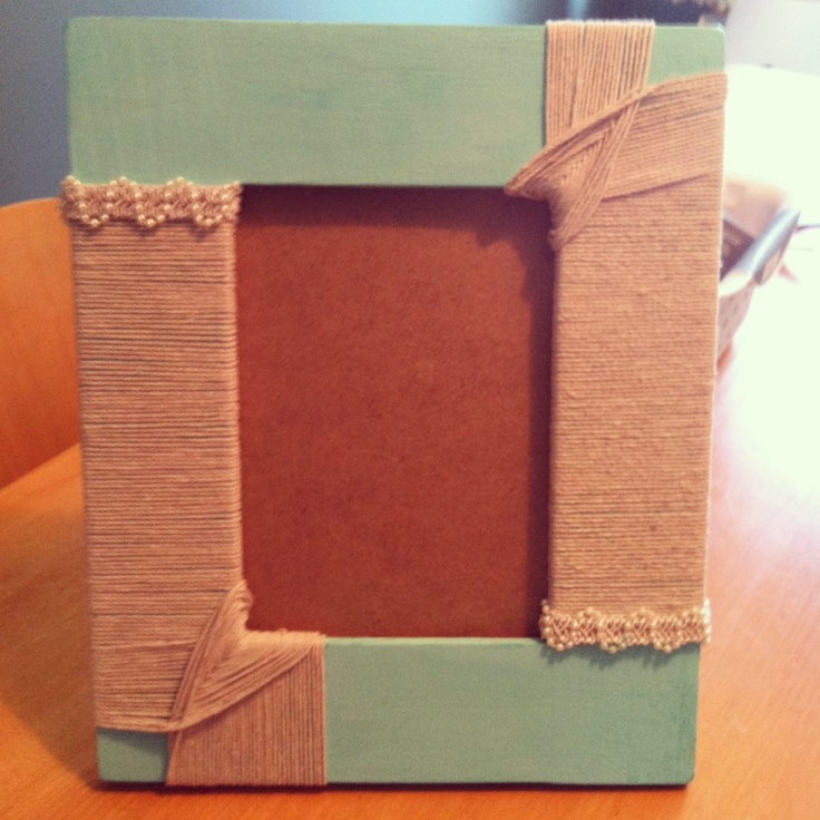 25 Best Ideas About Homemade Picture Frames On Pinterest
